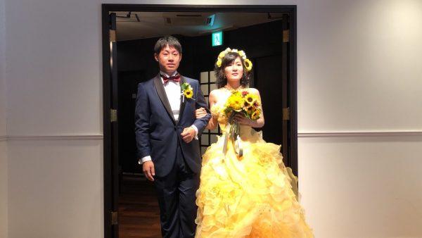 盛夏の結婚式💒