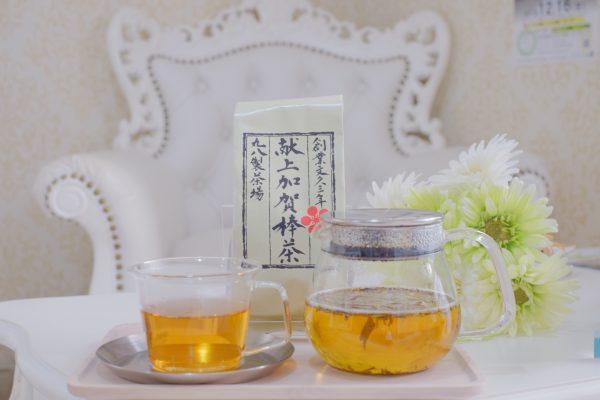 加賀棒茶でおもてなし🍵