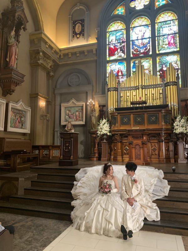 秋冬挙式の花嫁さま♪